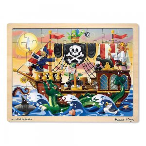 Holzpuzzle Piratenabenteuer (48 Teile)