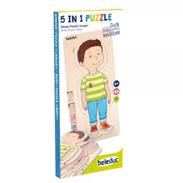 Körper Puzzle Jungen